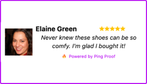 Testimonials and reviews are important forms of social proof on an Ecommerce site.